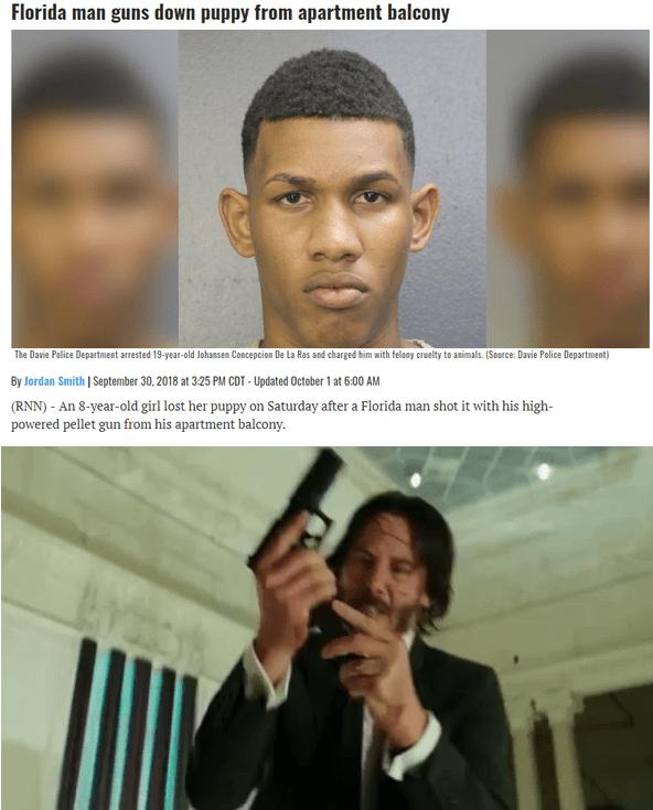 John Wick Gun Meme : Triggered., Memes