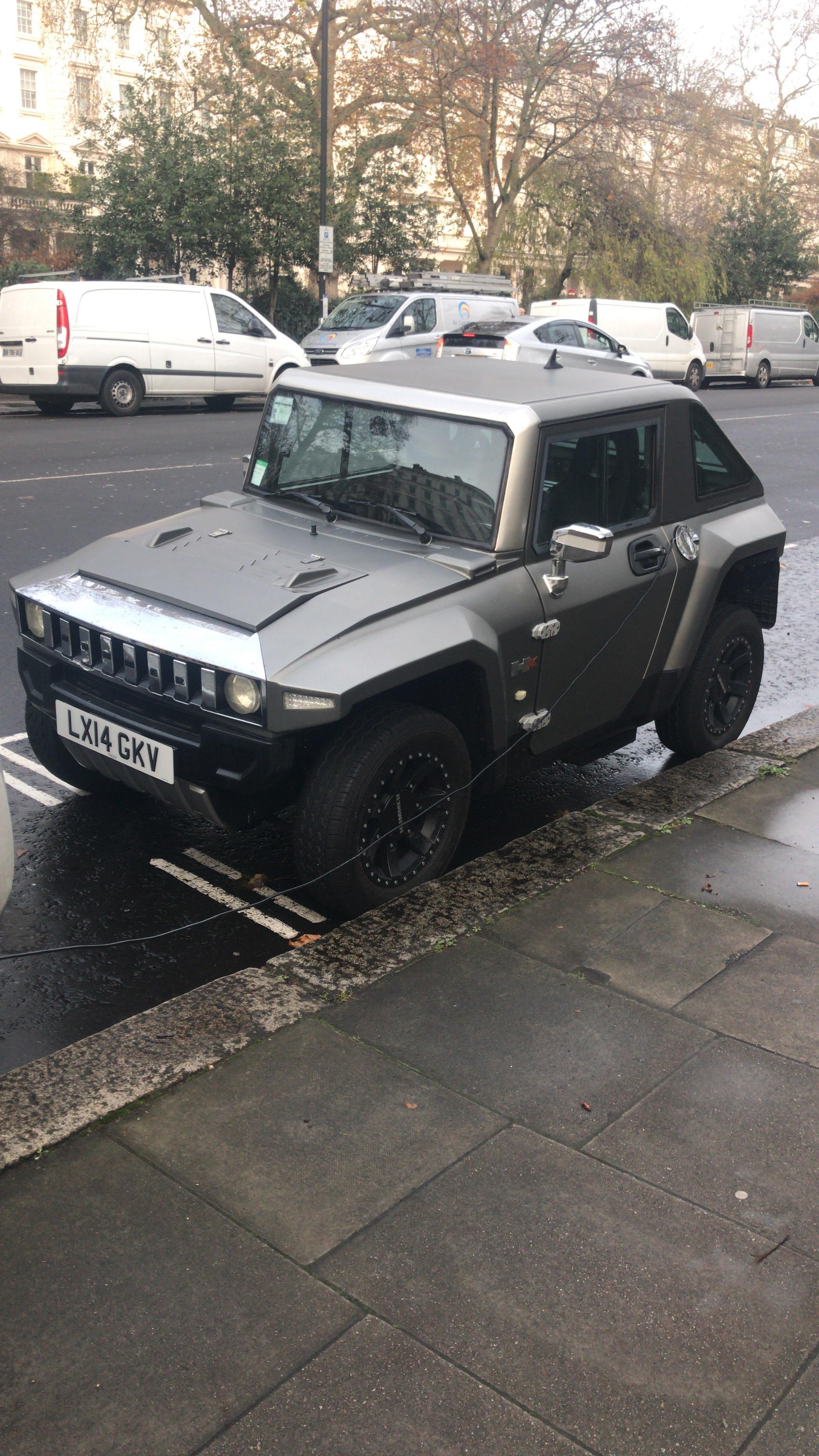 Today I saw a mini electric Hummer mildlyinteresting