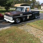 66 C10 Ratrod Hotrod Me And My Dad Have Built Over The Past 5 Years Built Out Of 3 Different Trucks Now On S10 Frame Lowered 3 Powered By A 358 Small Block