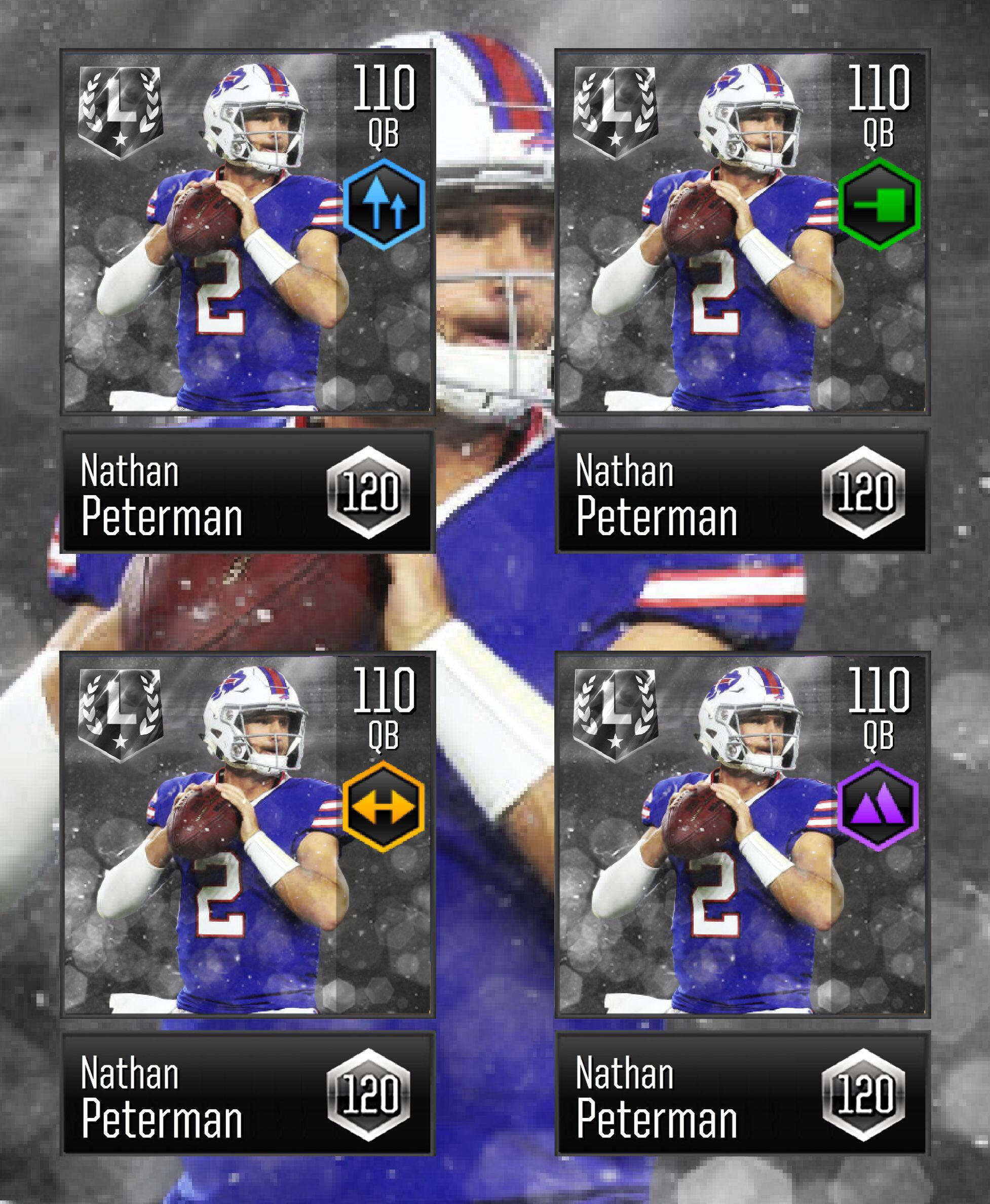Nathan Peterman Memes : nathan, peterman, memes, Concept], ULTIMATE, LEGEND, Nathan, Peterman, MaddenMobileForums