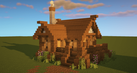 Minecraft: Starter House Tutorial How to Build a House in Minecraft : Minecraftbuilds