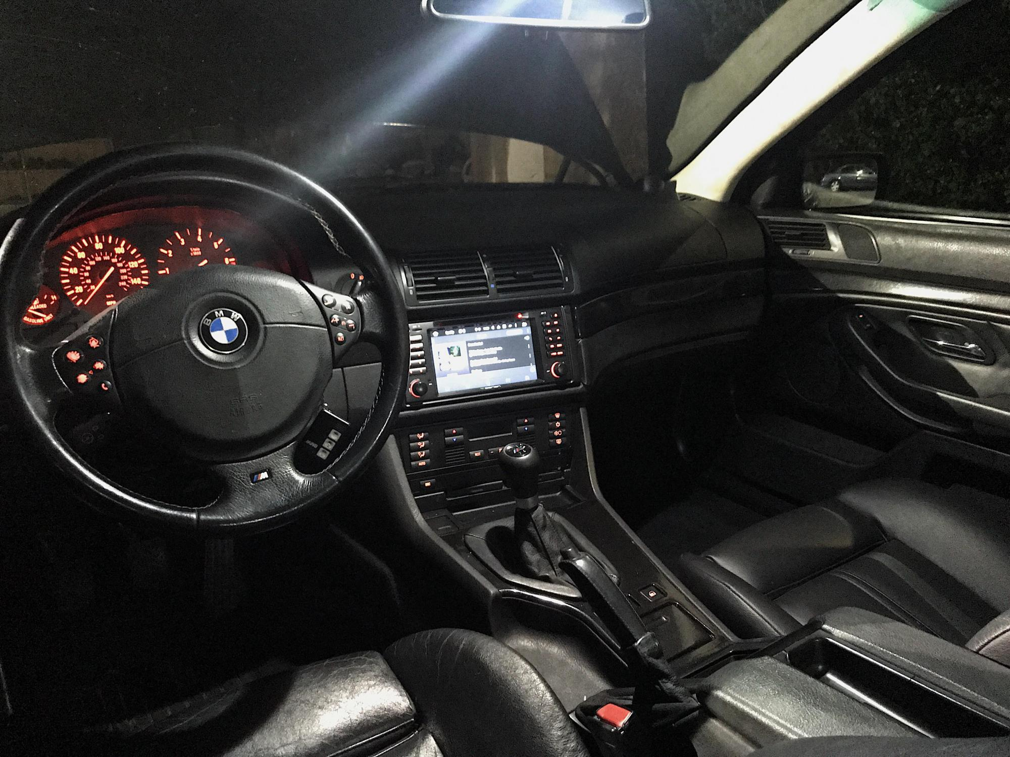 hight resolution of 2000 e39 touring interior with a small updates
