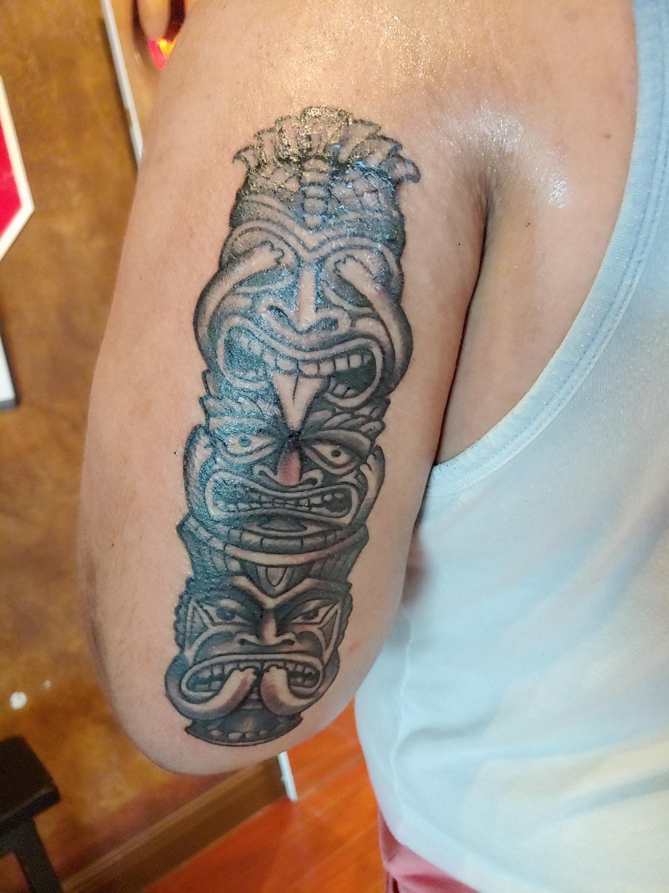 No Evil Tattoo : tattoo, Evil,, Speak, Evil., Babin, Subcultures, Orange, City,, Tattoos