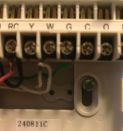 nest e old thermostat has a jump wire and two reds in rc nest nest thermostat r wire no power thermostat r wire [ 4032 x 3024 Pixel ]