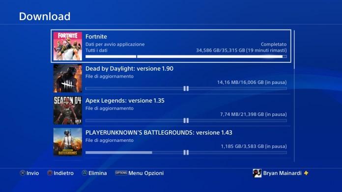 What Downloading S5 On Ps4 Fortnitebr