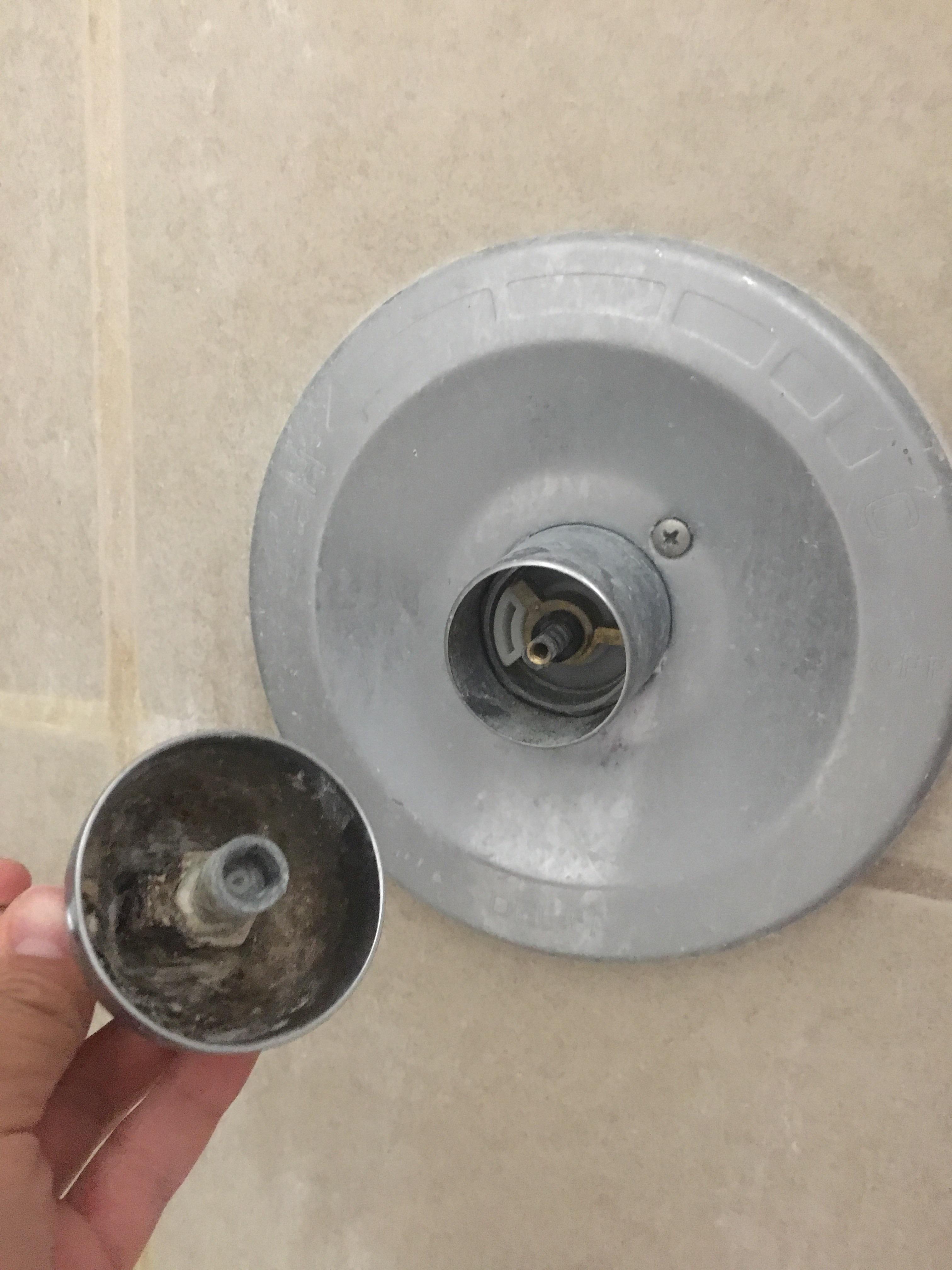 my delta shower handle keeps falling