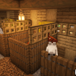 Simple Horse Stalls To Add To Your Barn Minecraft Make A Beautiful Farm Video Link In Comments Detailcraft