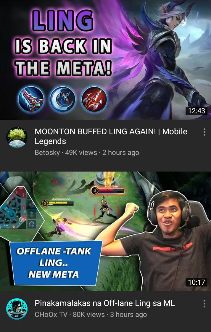 Mobile Legends Ling : mobile, legends, Spectrum, MobileLegendsGame