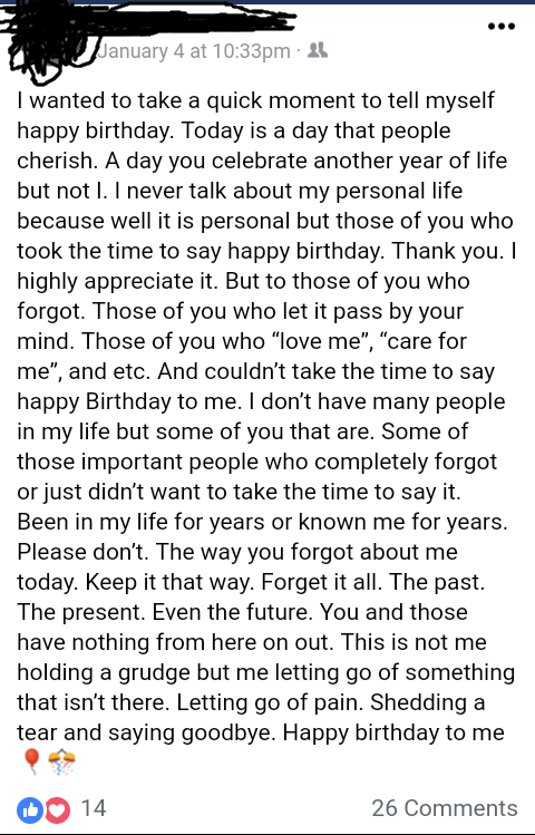 Things To Say To Your Boyfriend On His Birthday : things, boyfriend, birthday, Forgot, Happy, Birthday, Facebookdrama