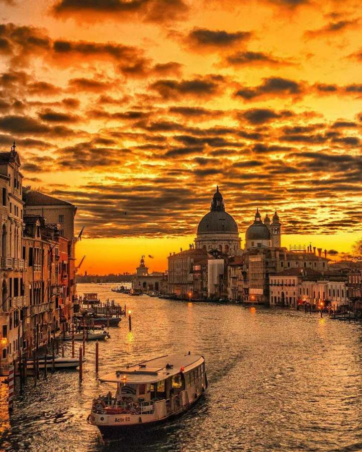 Canale Grande, Venice, Veneto Italy