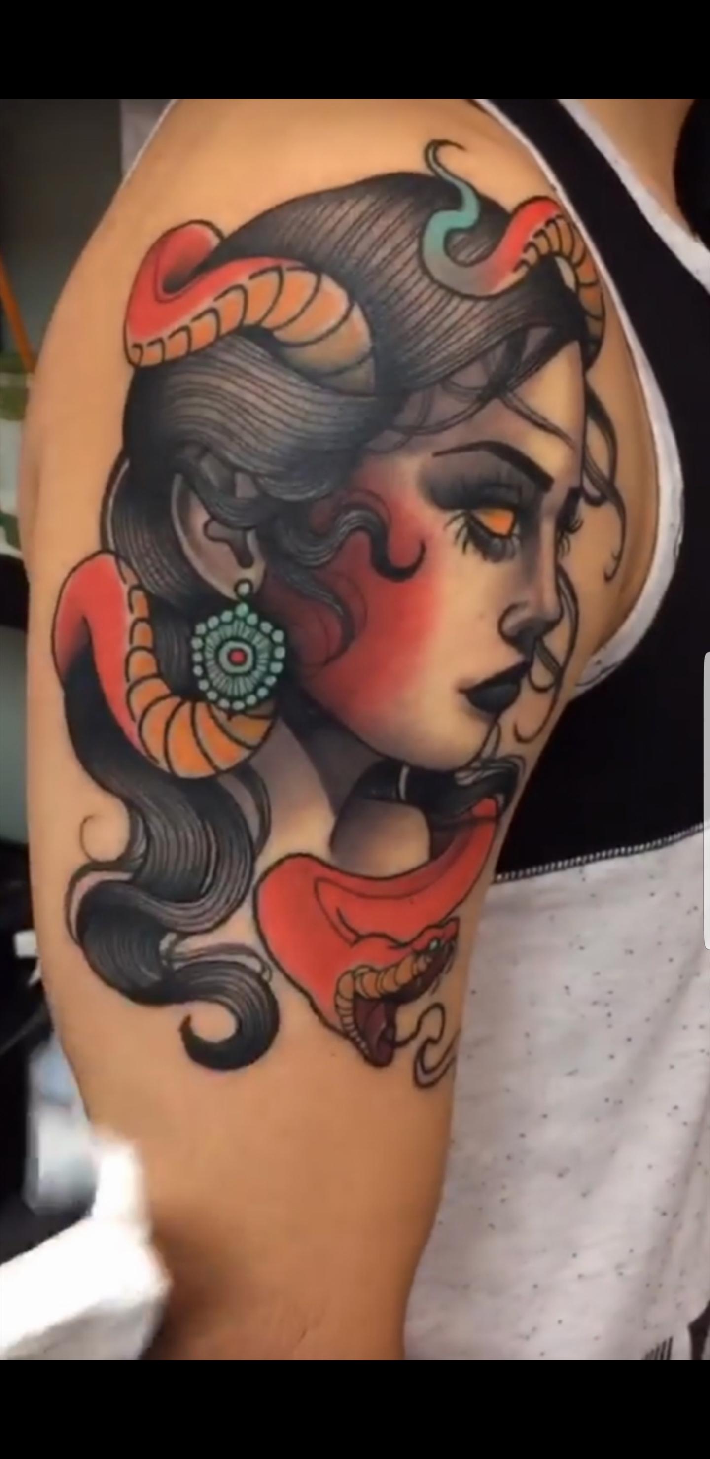 Red Dagger Tattoo : dagger, tattoo, Abel_av, Dagger, Tattoo, Houston, Tattoos