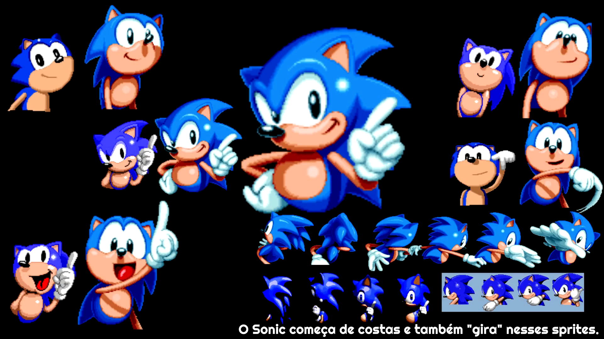 hight resolution of sprite comparison for mania s intro animation segasonic sonic 1 2 and cd