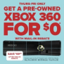 Gamestop Black Friday Xbox 360 Deal Free After Rebate