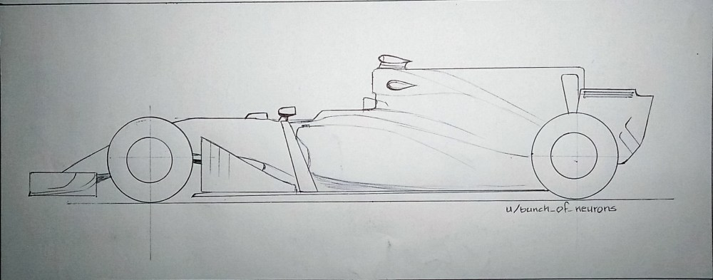 medium resolution of mediaquick drawing 2017 f1 car with shark fin engine cover