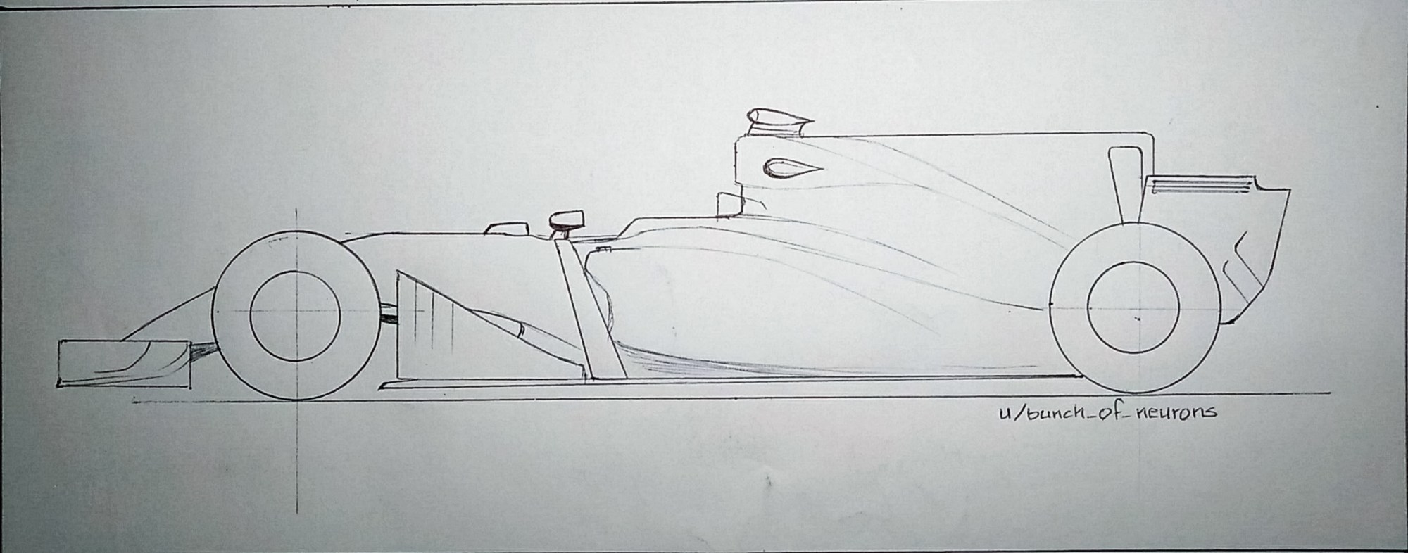hight resolution of mediaquick drawing 2017 f1 car with shark fin engine cover