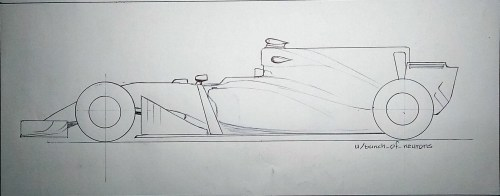 small resolution of mediaquick drawing 2017 f1 car with shark fin engine cover