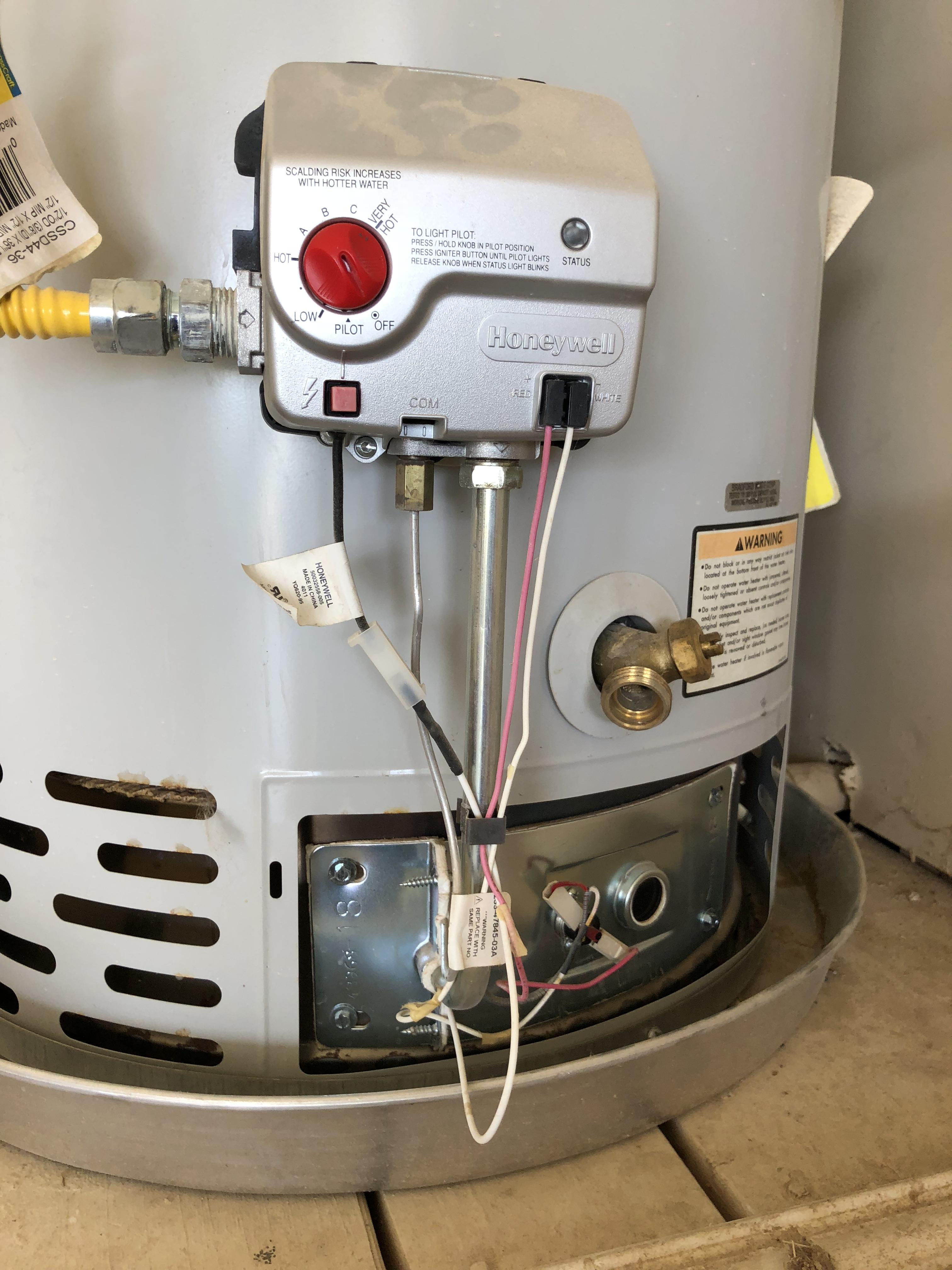 water heater pilot won t stay lit