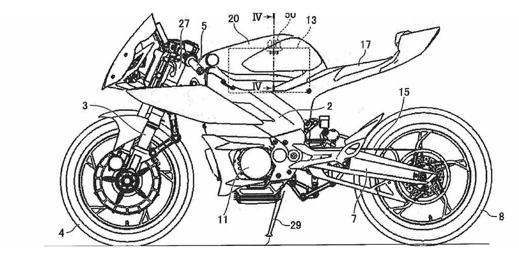 Yamaha patents reveal electric R1 and MT-07 : motorcycle