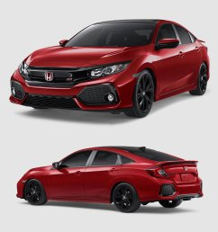 i photoshopped the mods i want for a new 2018 civic si  [ 1800 x 1479 Pixel ]