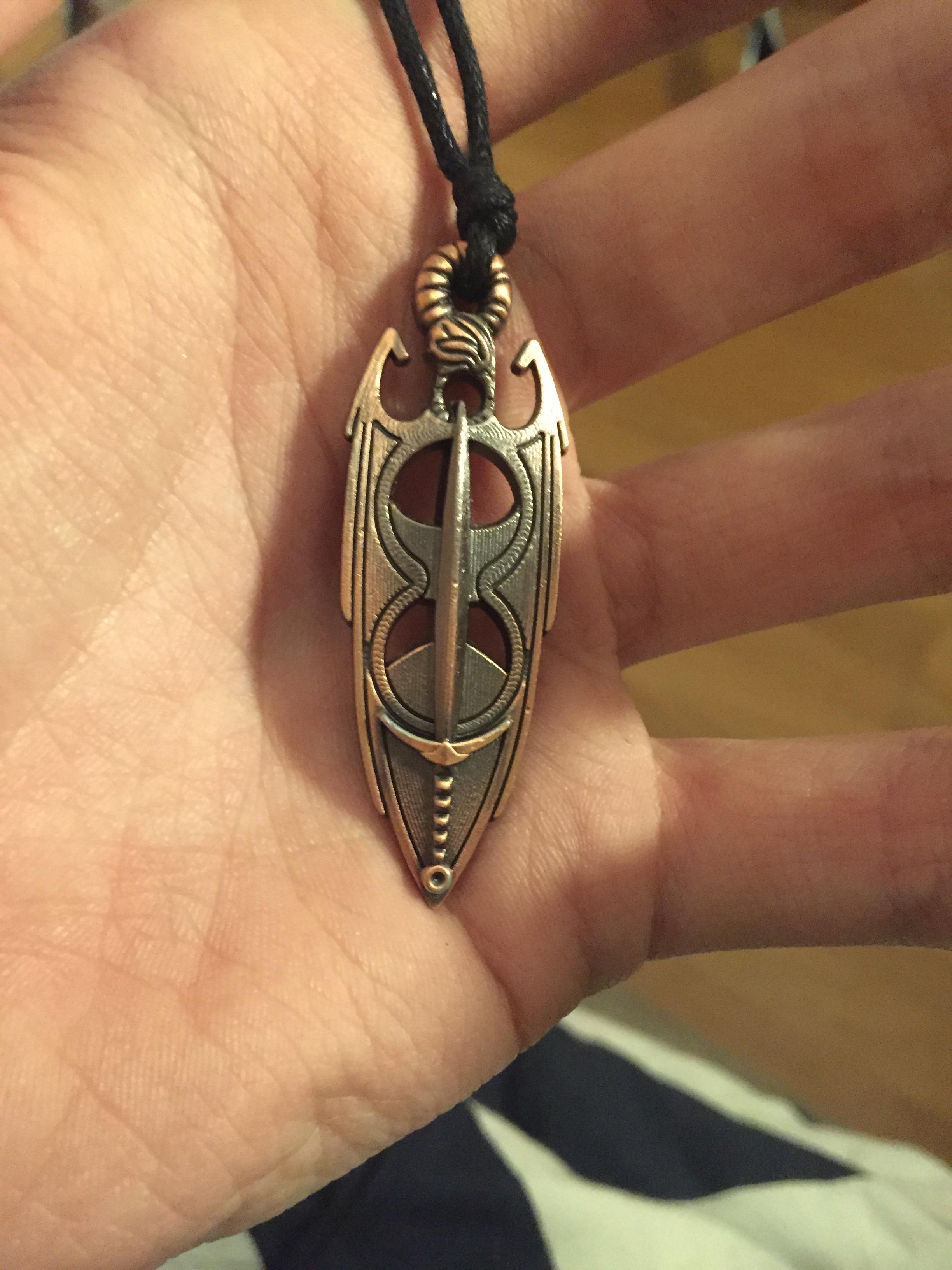 got my amulet of