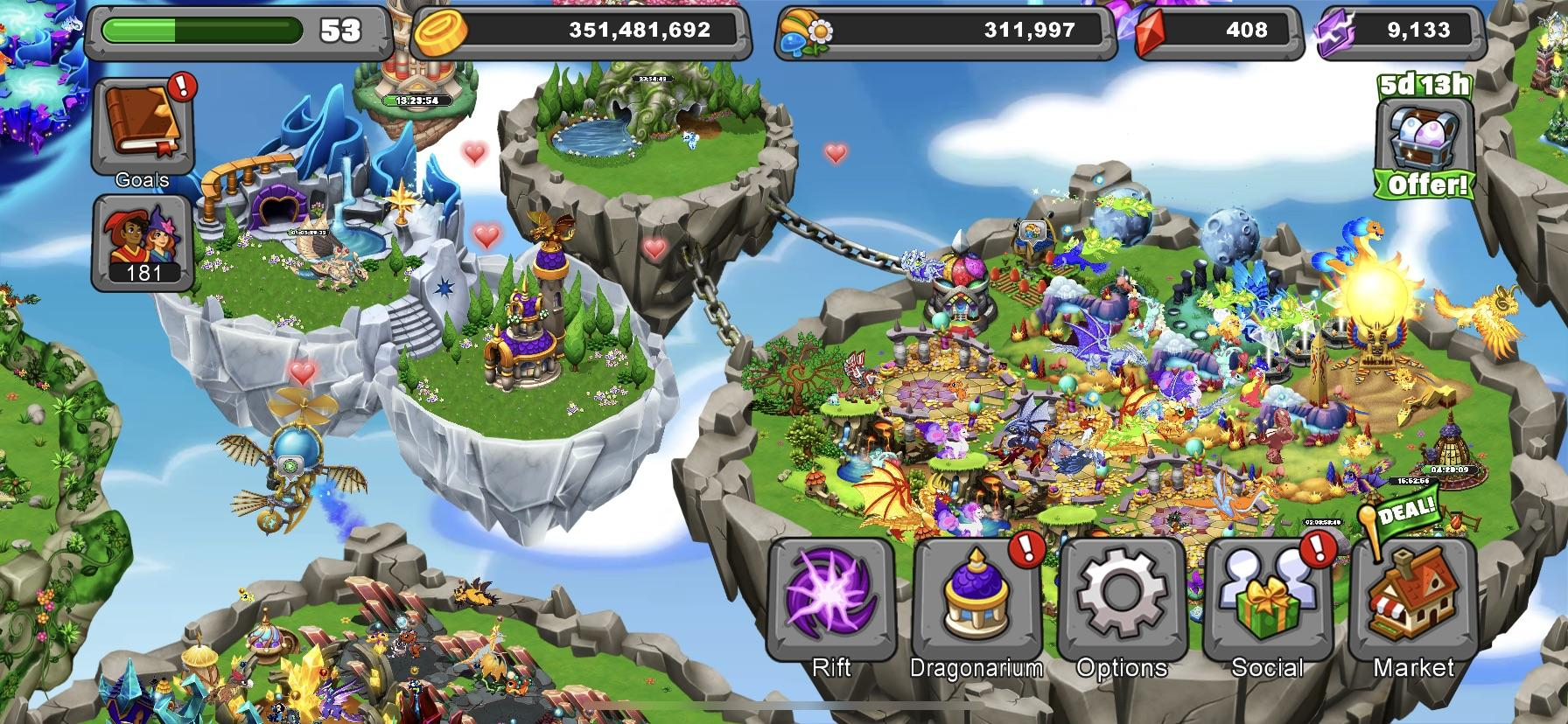 dragonvale is the only