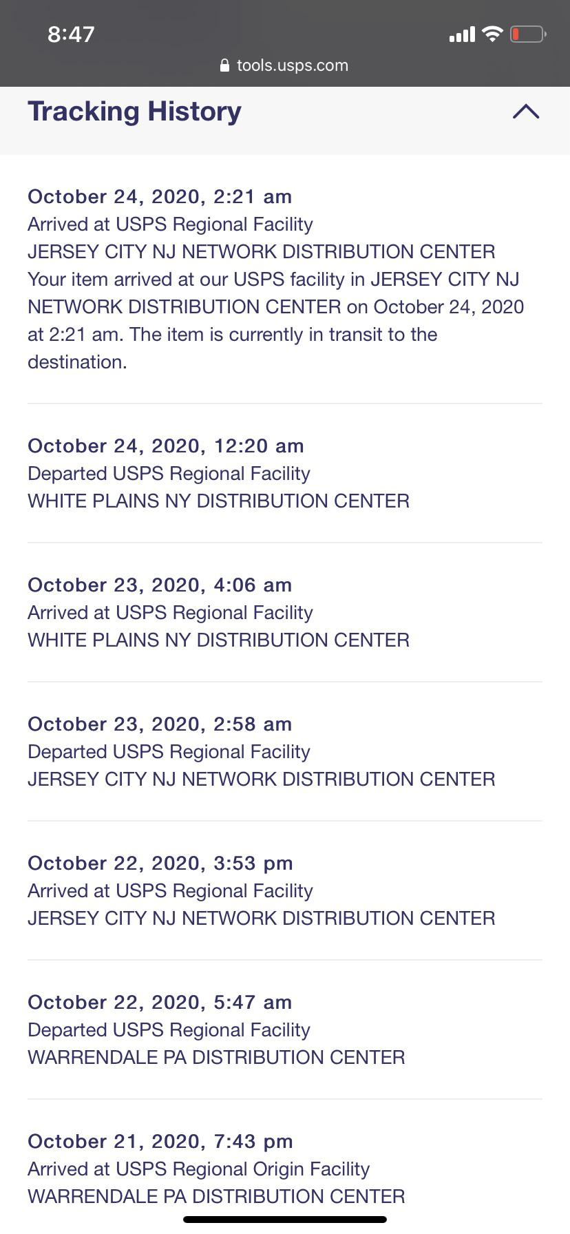 Does Usps Have Live Tracking : tracking, Going, Package?, White, Plains, Would, First