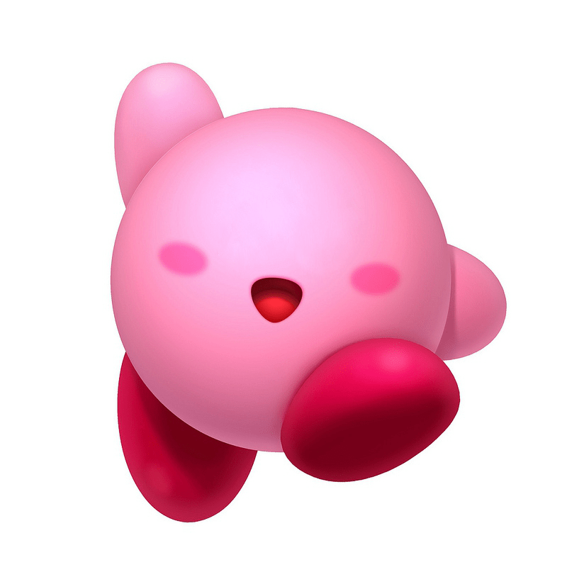 kirby without eyes gaming