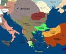 Southeastern Europe 1360 Mapporn