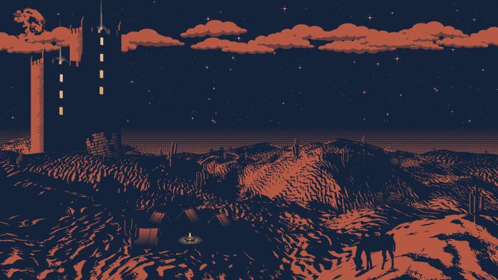 Desert Towers. OC. [1920 x 1080]