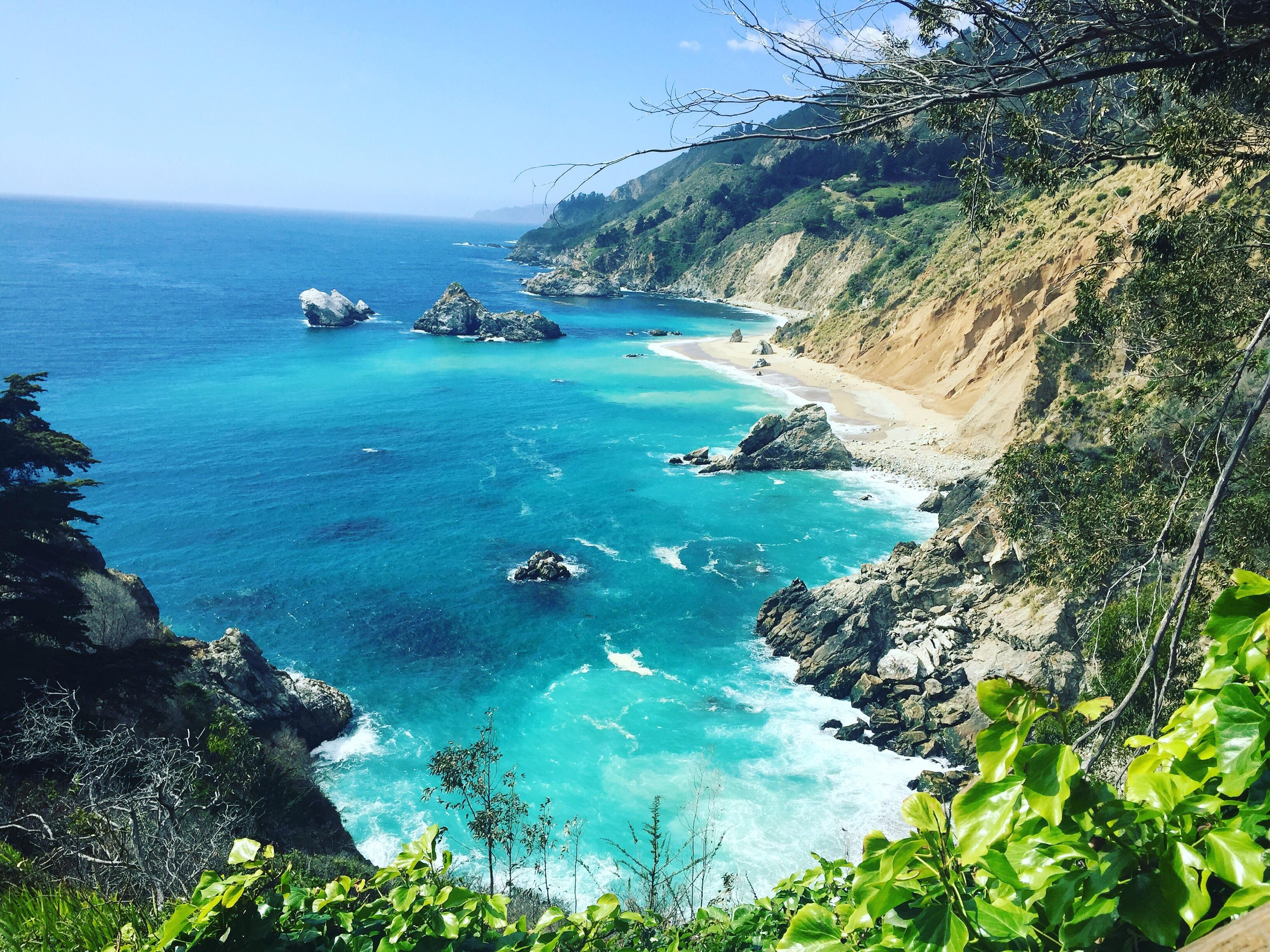 Big Sur x PCH 1 in California. USA. Something about the coast. : travel