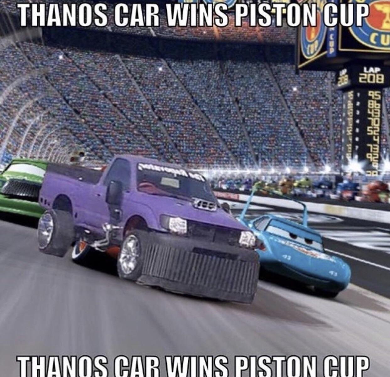 Thanos Car  Thanosdidnothingwrong