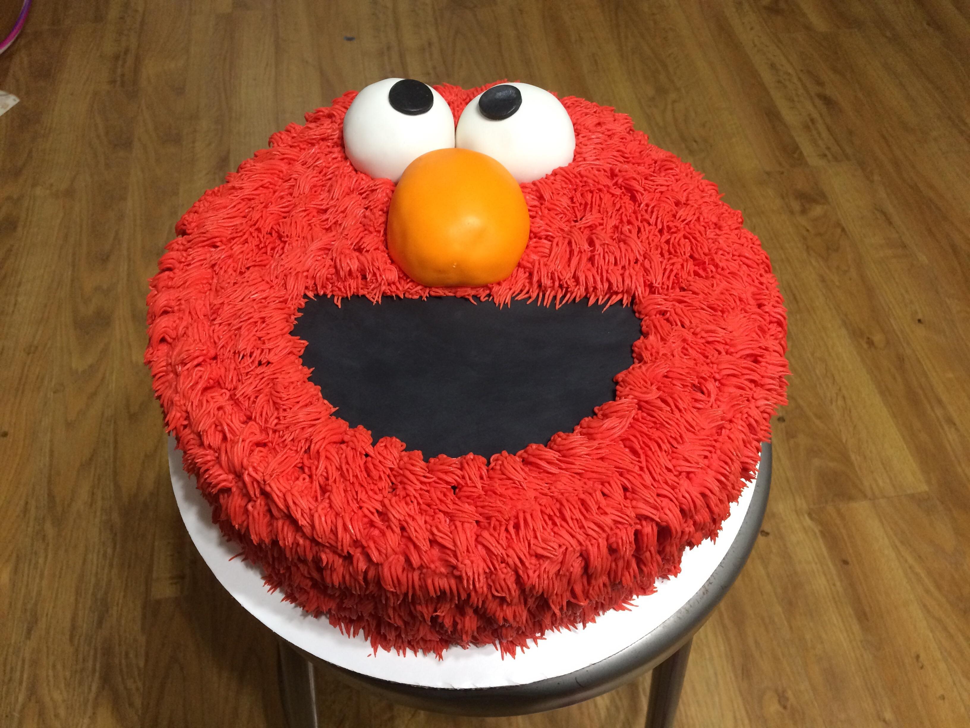Elmo Cake Cakedecorating
