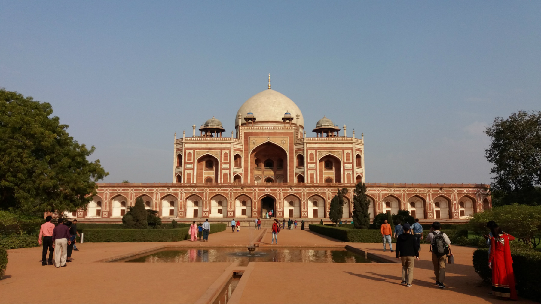 Humayun's Tomb Is The Tomb Of The Mughal Emperor Humayun In Delhi