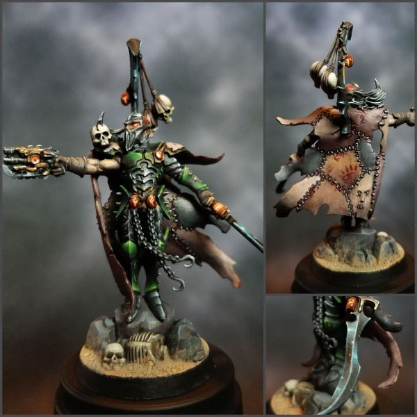 Archon Post-apocalyptic Drukhari Army Finished