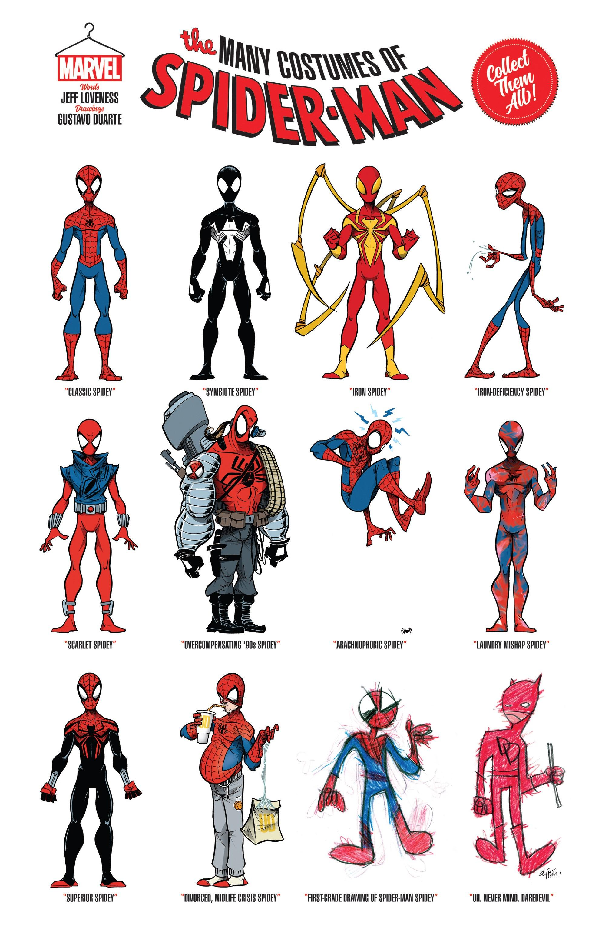 The Many Costumes Of Spider Man Asm Annual 42 Comicbooks