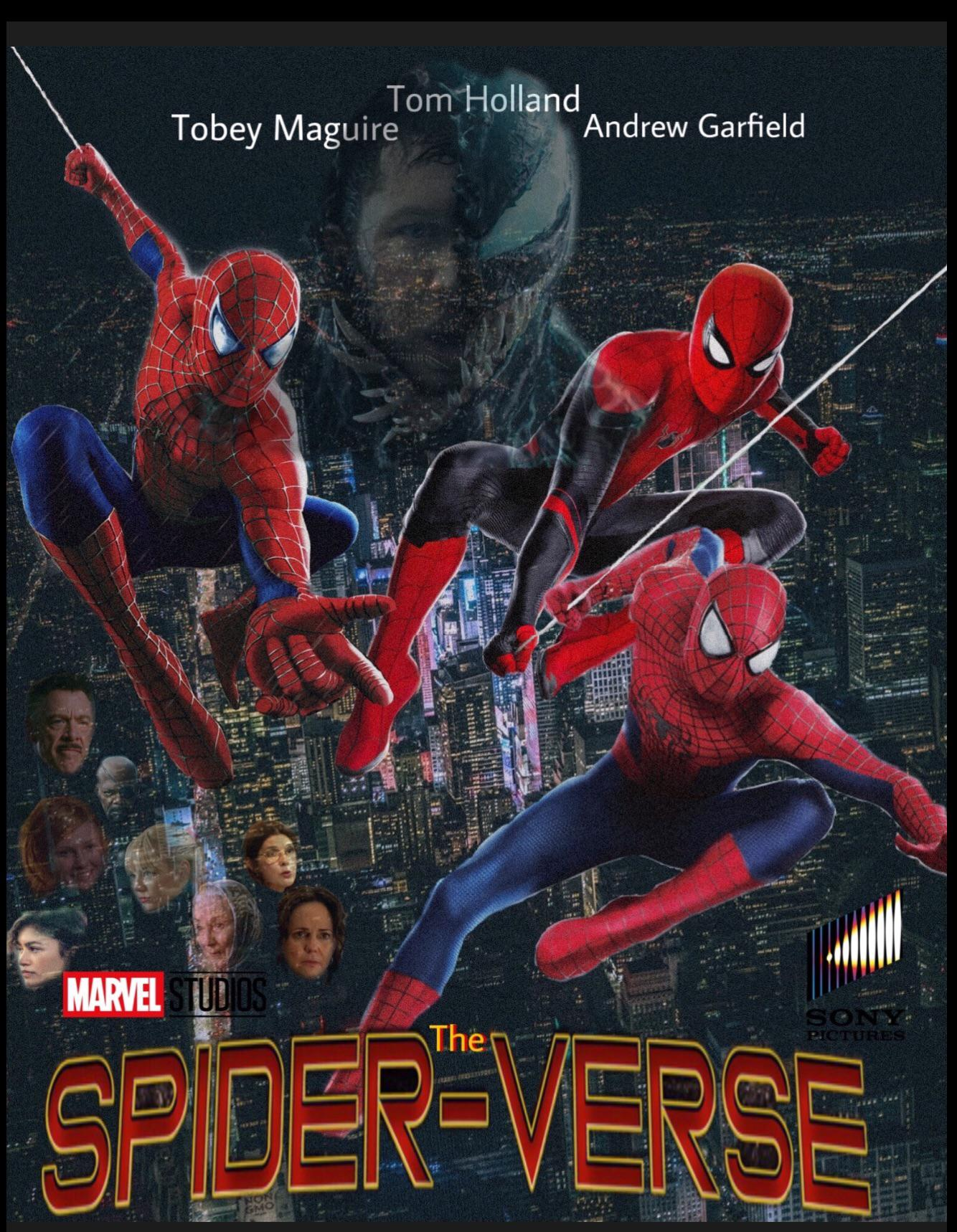 "Live Action Spider Verse : action, spider, verse, Poster, Action, ""Spider-Verse""., Title, Another, Image, (link, Comments), Spiderman"
