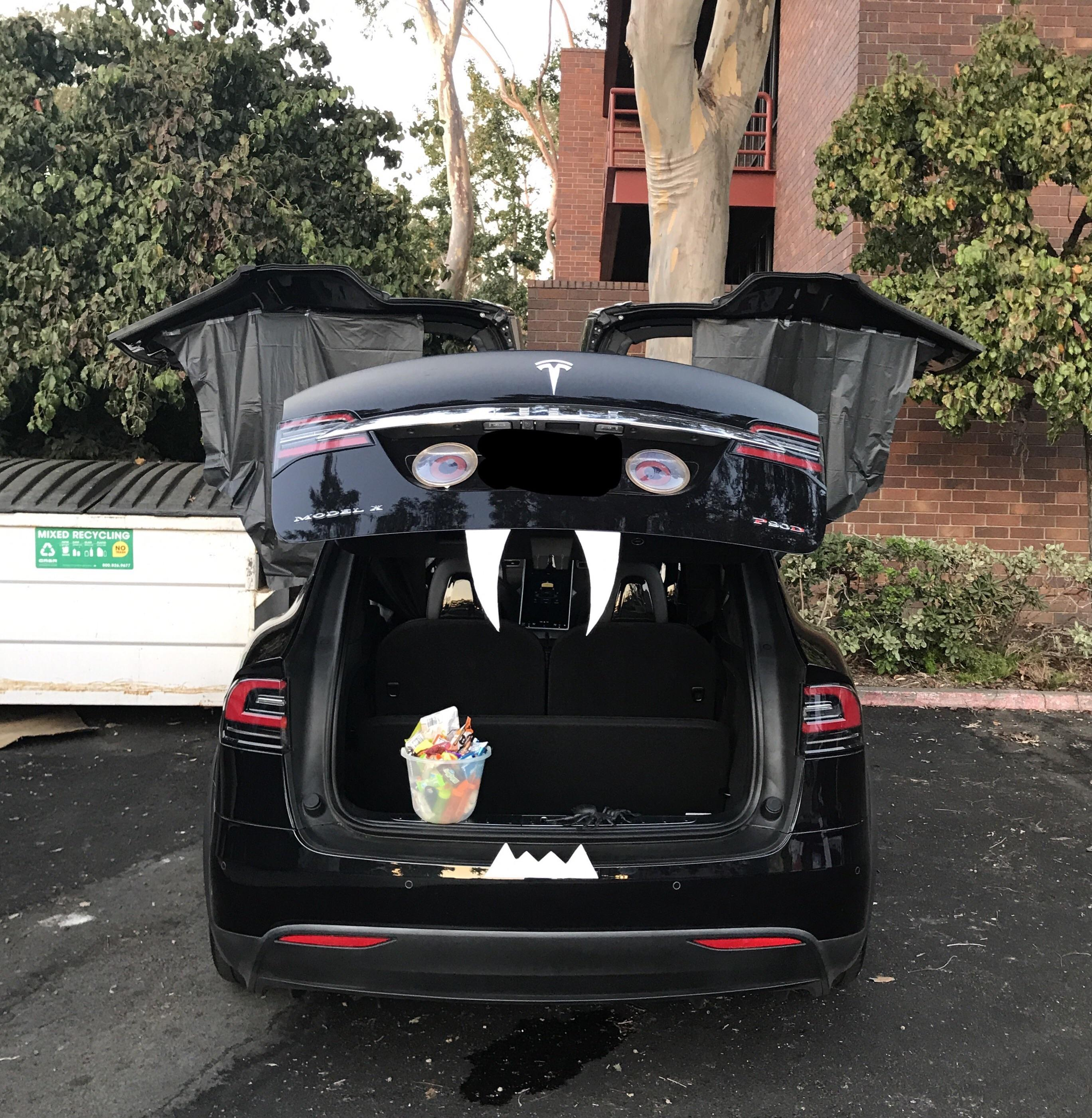Image result for Tesla - Trunk or Treat
