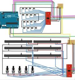 midi controller wiring help  [ 2832 x 2670 Pixel ]