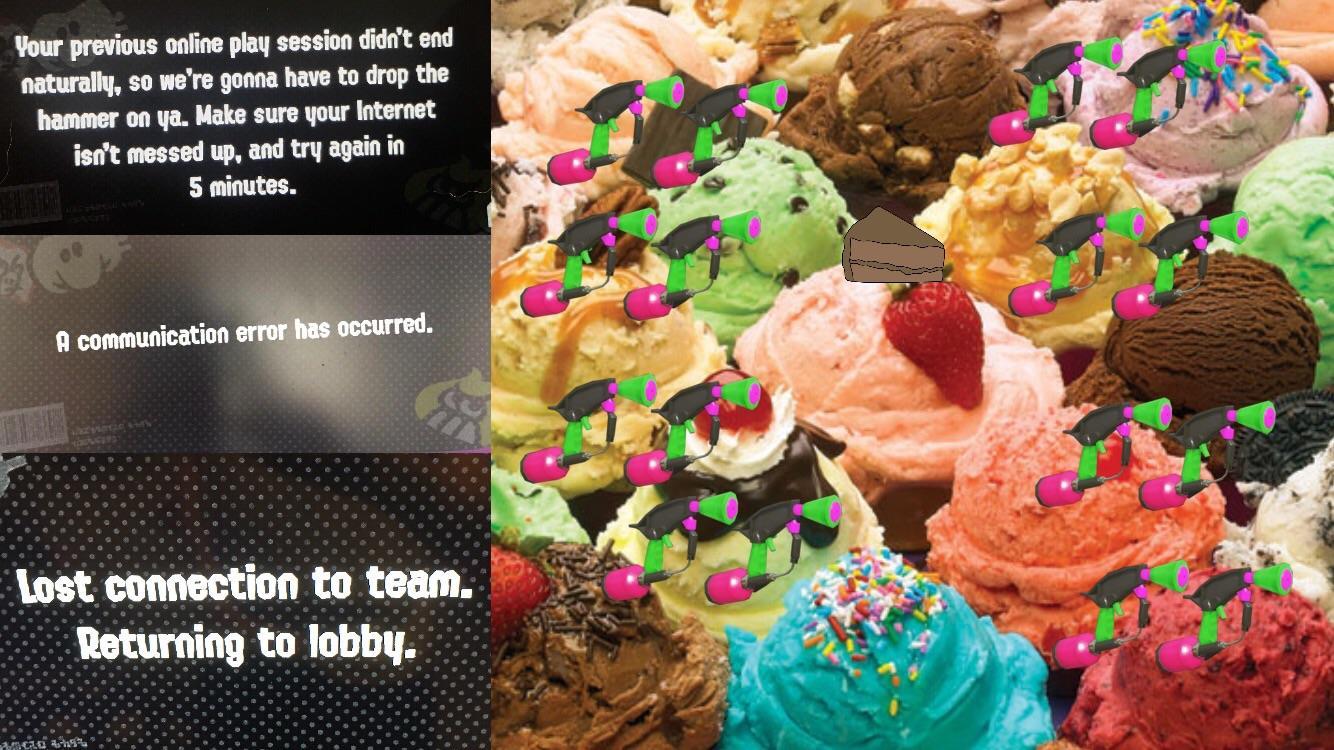 Cake vs Ice Cream Splatfest in a Nutshell : splatoon