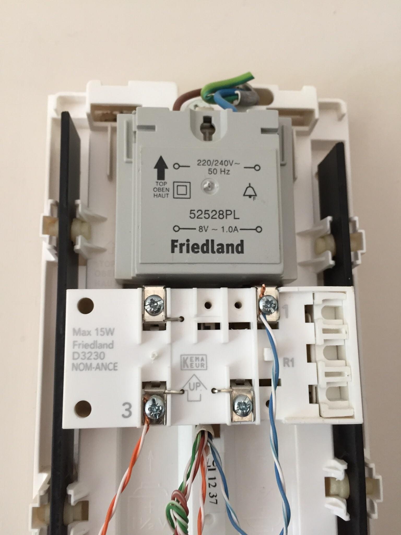 hight resolution of installing nest hello uk what are my options with the following transformer