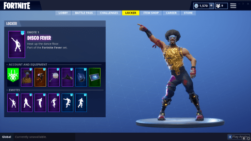 Fortnite DISCO FEVER