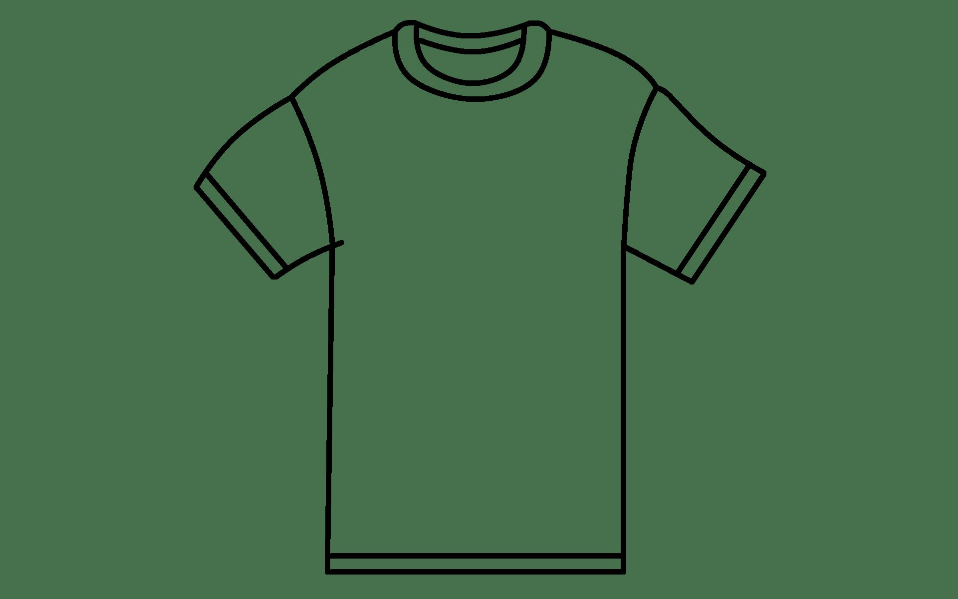 Drawn Tshirt Template Streetwearstartup