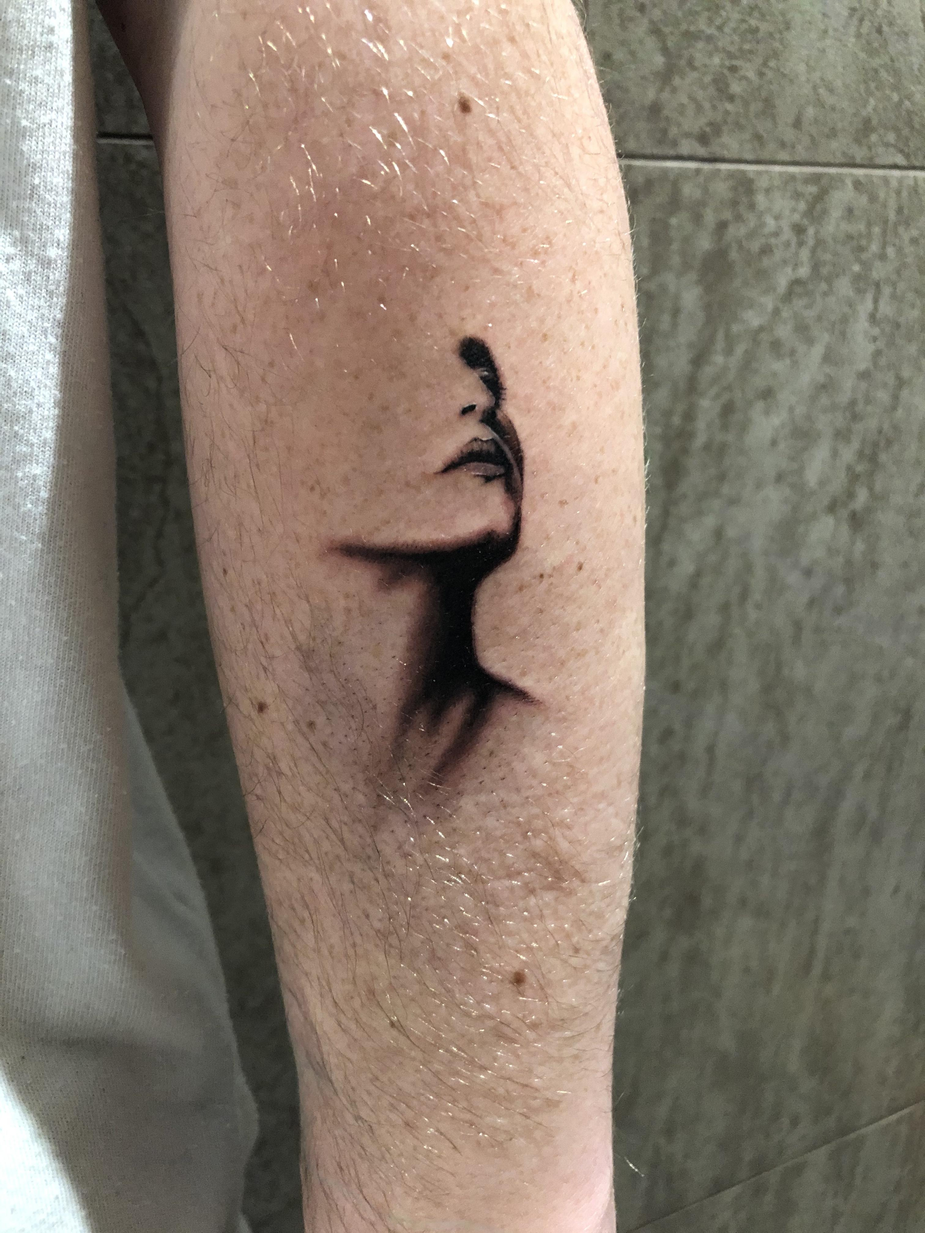 Negative Space Tattoos : negative, space, tattoos, Negative, Space, Nathan, Hill,, Welwyn, Garden, City,, Tattoos