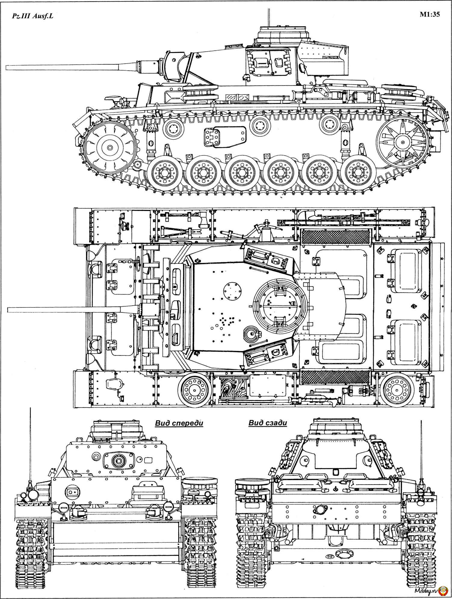 [Request] Any timepieces that have a Panzer III kind of