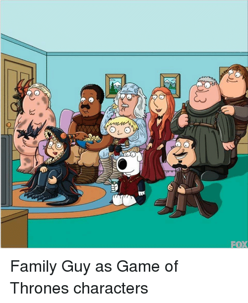 Game Of Thrones Family Guy : thrones, family, Imagine, Familyguy