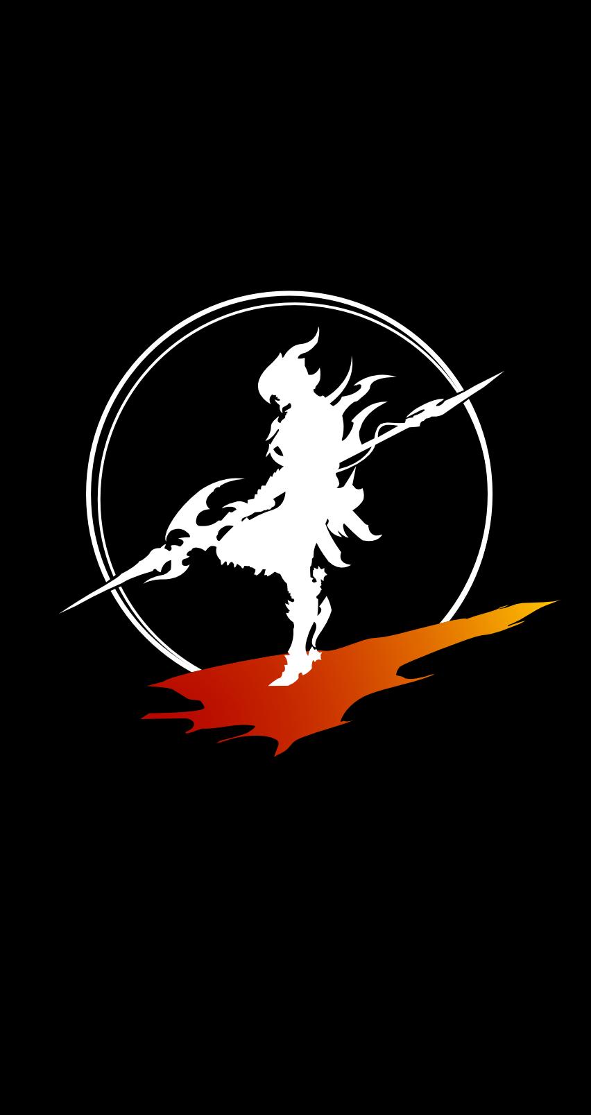 made this dragoon wallpaper