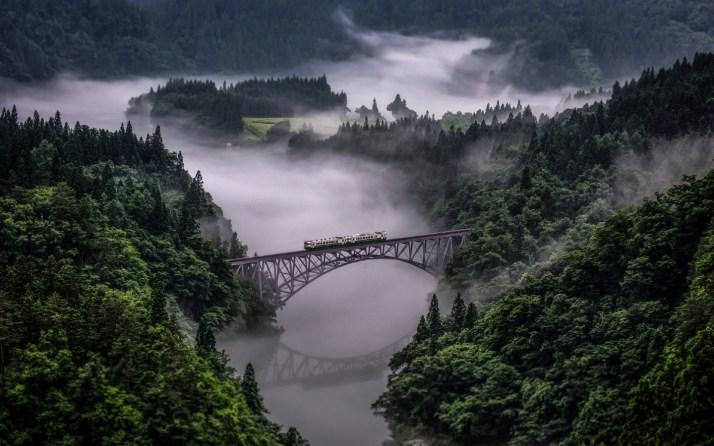 Tadami Line in Japan [1440×900]