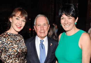 Image result for bloomberg with ghislaine maxwell