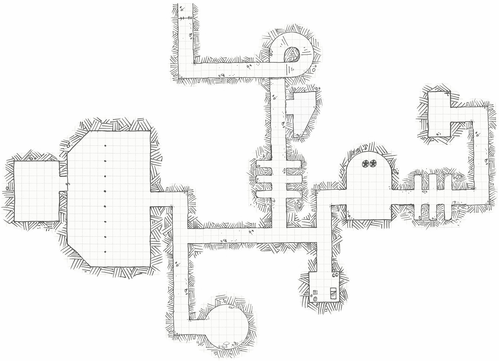 Modular dungeon pack : CartographyAssets