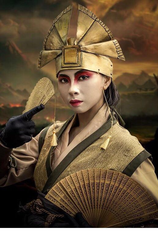 Avatar Nycc : avatar, Self], Avatar, Kyoshi, Cosplay